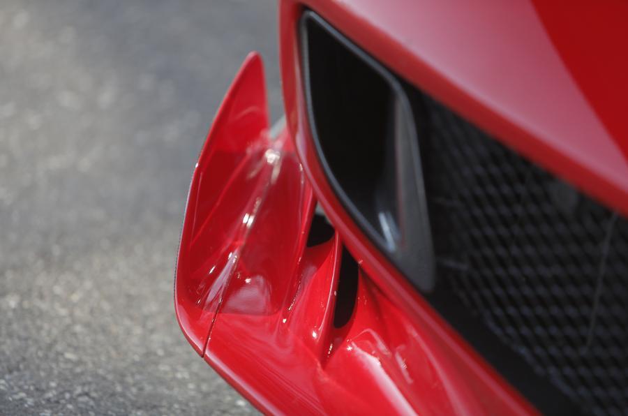 Ferrari F12tdf front air intake