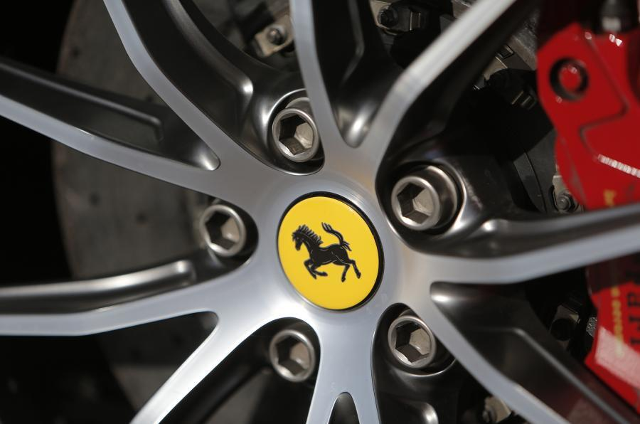 Ferrari F12tdf alloy wheels