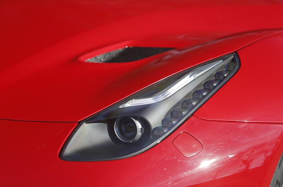 Ferrari F12tdf xenon headlights