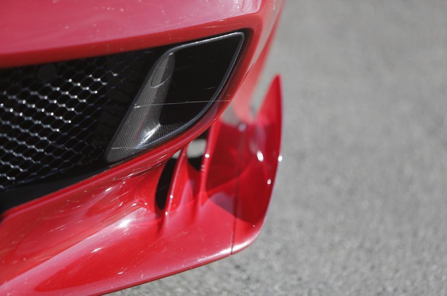 Ferrari F12tdf front air diffuser