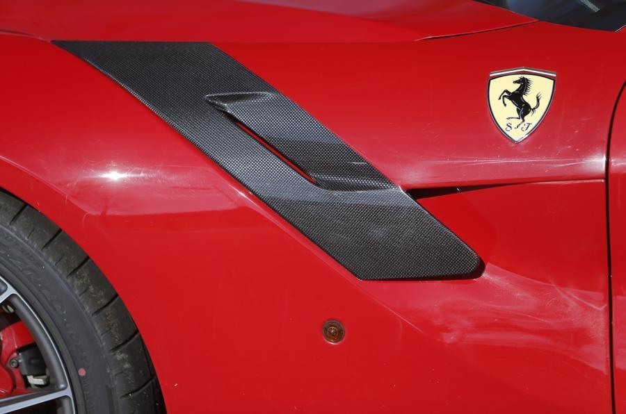 Ferrari F12tdf front wing