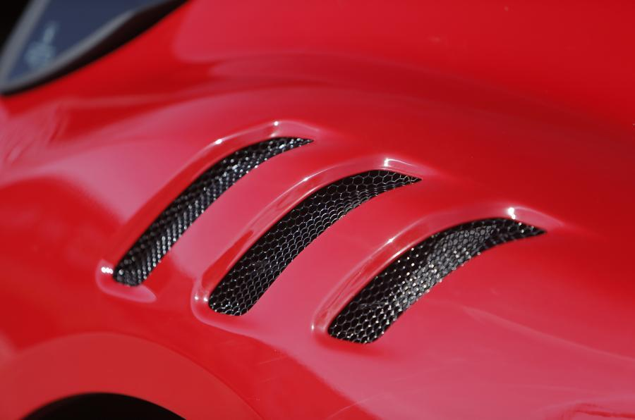 Ferrari F12tdf rear air vents
