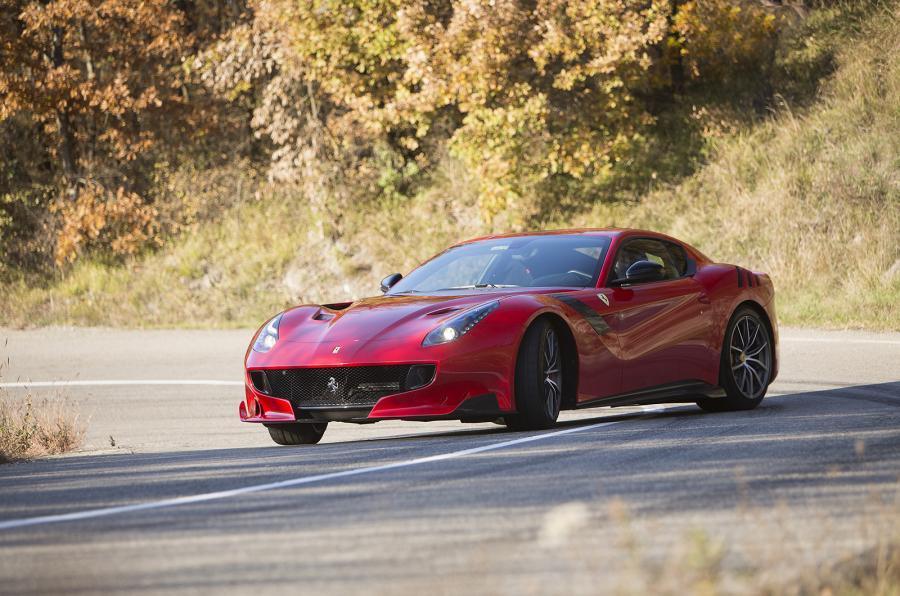 4.5 star 770bhp Ferrari F12tdf