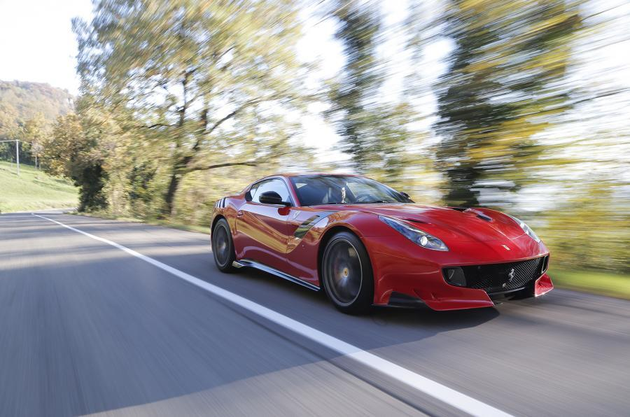 The £339,000 Ferrari F12tdf