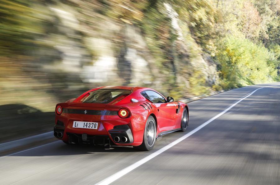 Ferrari F12tdf rear