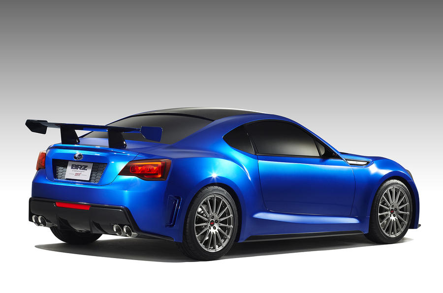 Subaru BRZ official pic revealed