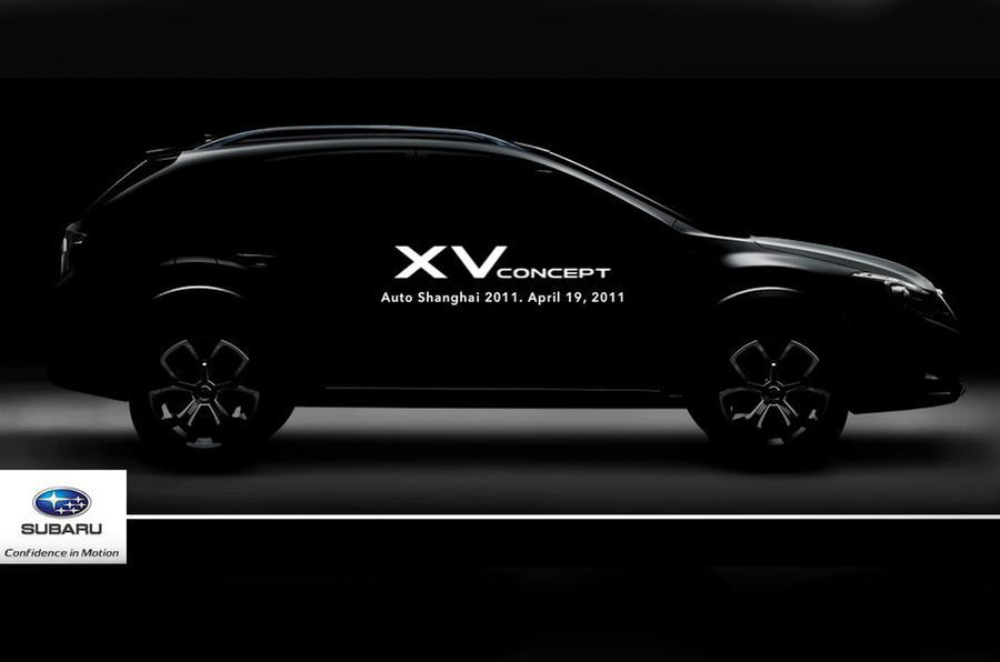Shanghai motor show: Subaru XV crossover