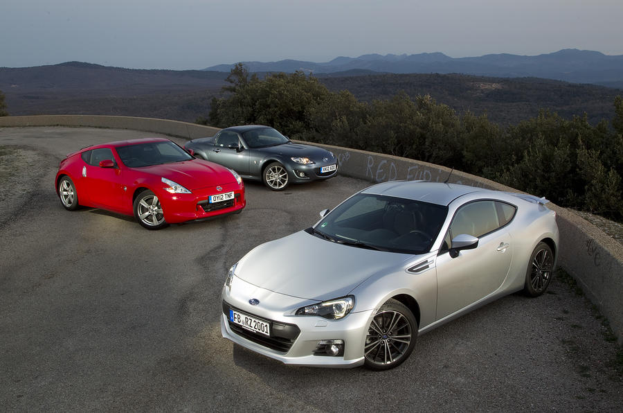 Subaru Brz Vs Nissan 370z Vs Mazda Mx 5 Autocar