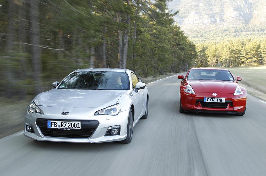 Subaru BRZ vs Nissan 370Z vs Mazda MX-5 | Autocar