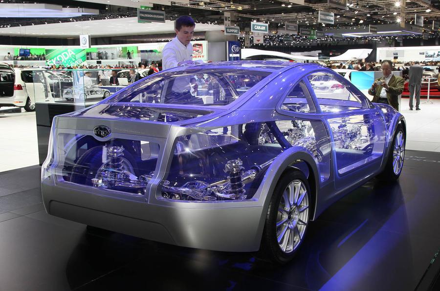 Geneva motor show: new Subaru coupe
