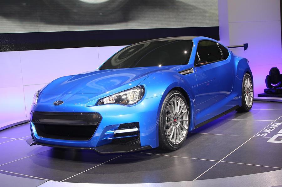 LA motor show: Subaru BRZ