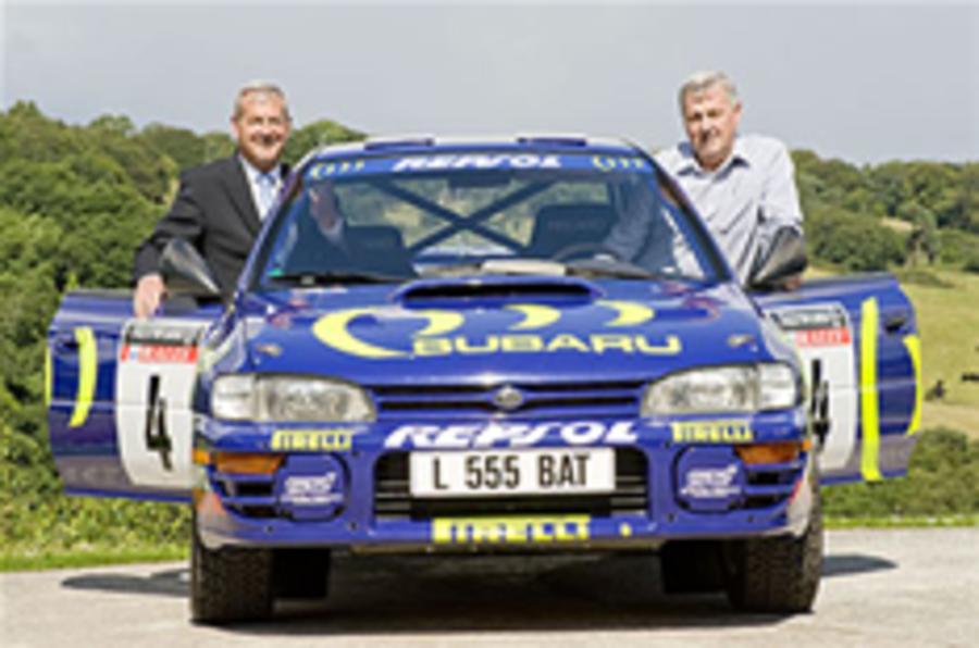 McRae's Subaru enters museum