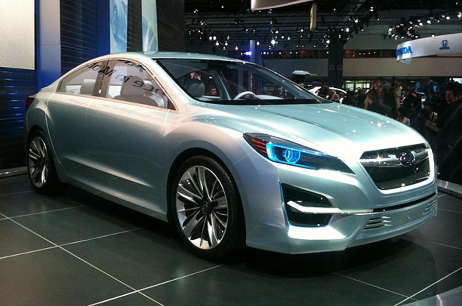Subaru plans range overhaul