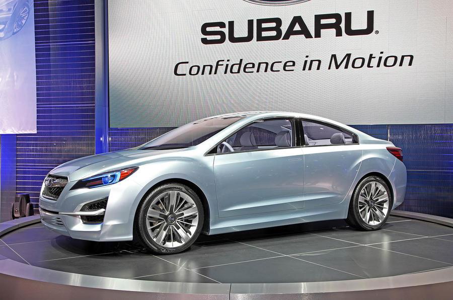 LA motor show: Subaru Impreza concept