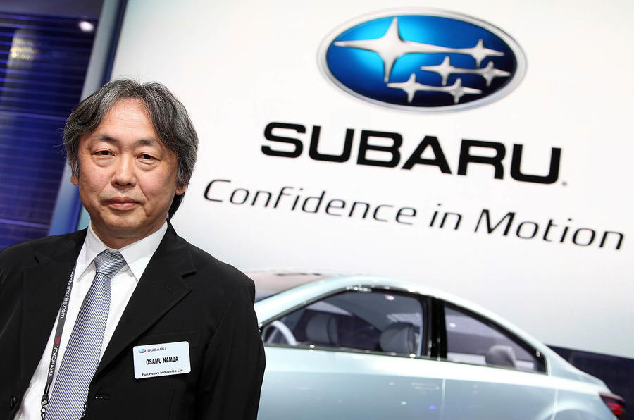 Subaru plans design revolution