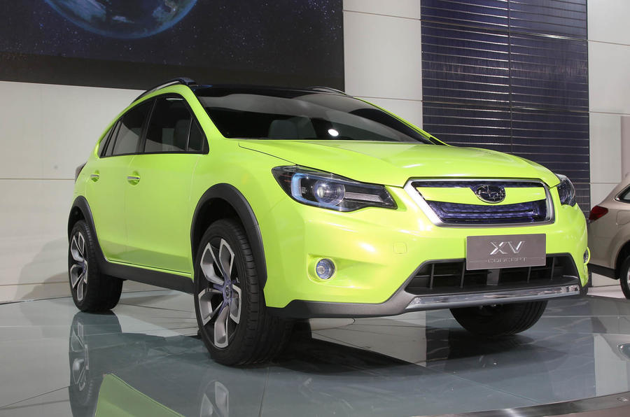 Shanghai motor show: Subaru XV