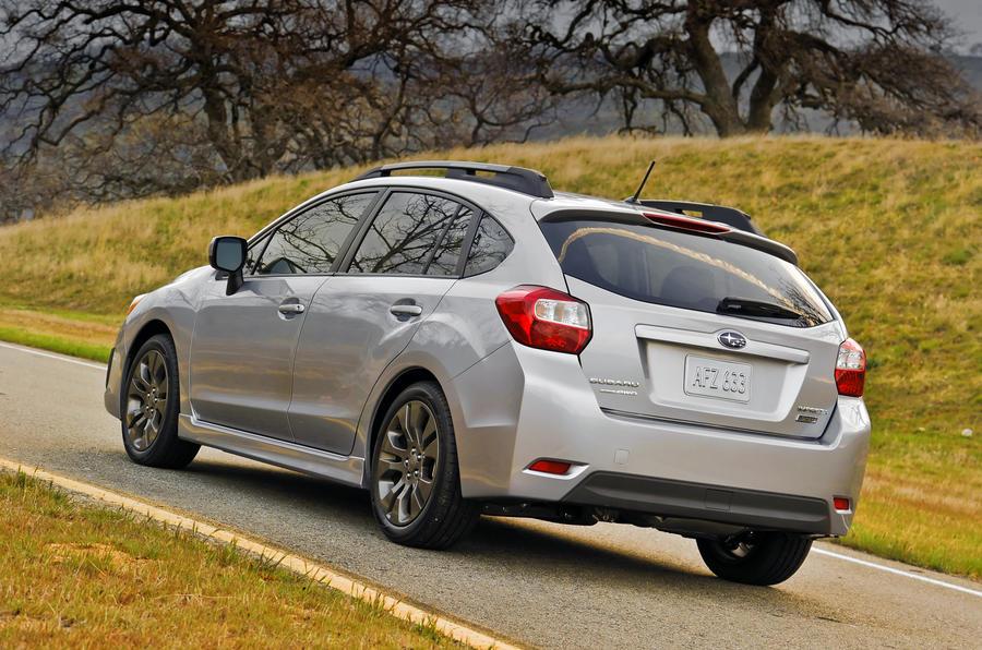 New York motor show: Subaru Impreza