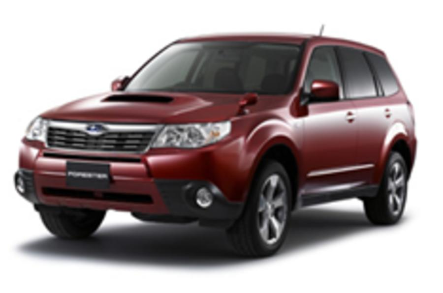 Revealed: Subaru Forester