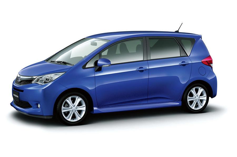 Subaru's new compact MPV