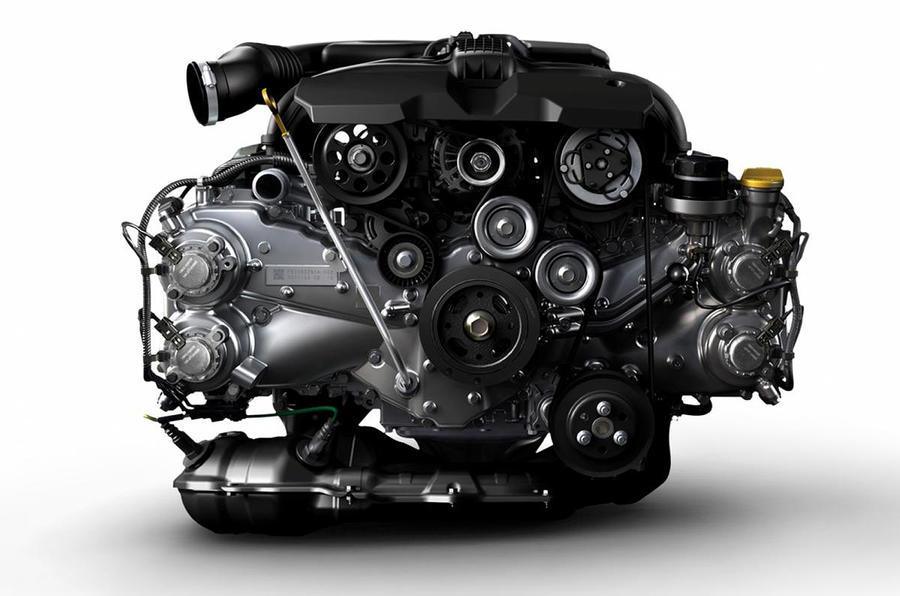 Subaru's new boxer engine