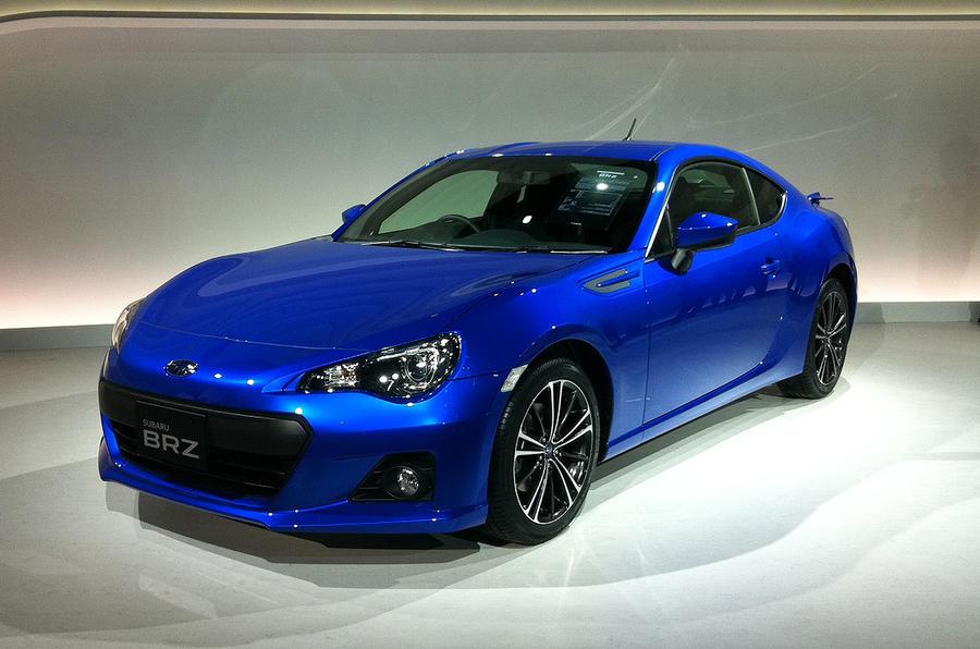 Tokyo motor show: Subaru BRZ