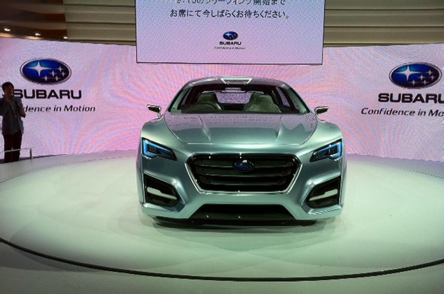 Tokyo: Subaru Advanced Tourer
