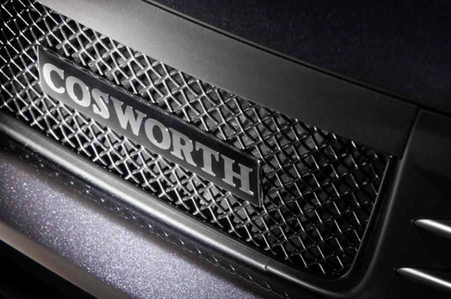 Subaru Cosworth's supercar pace