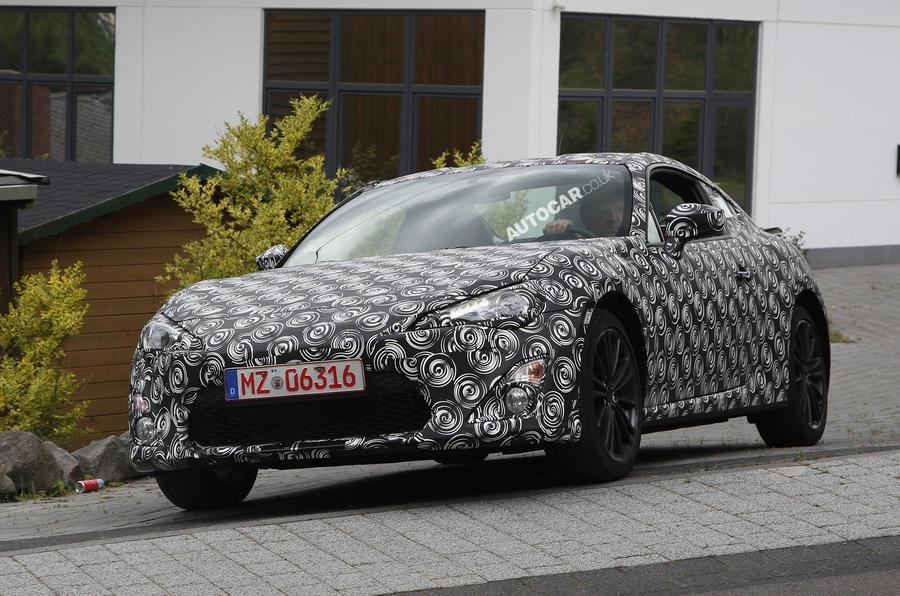 Subaru BRZ spied testing