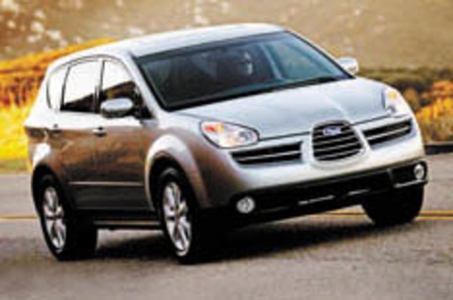 Subaru announces prices for Tribeca SUV