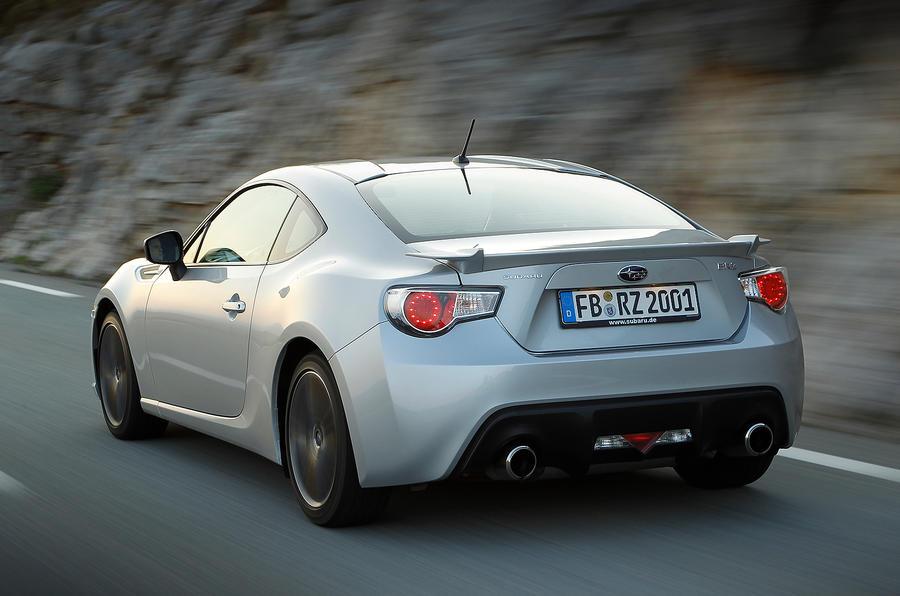 Subaru BRZ rear quarter