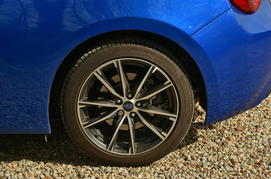 17in Subaru BRZ alloy wheels