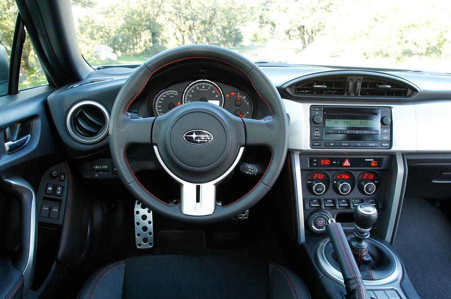 Subaru BRZ dashboard