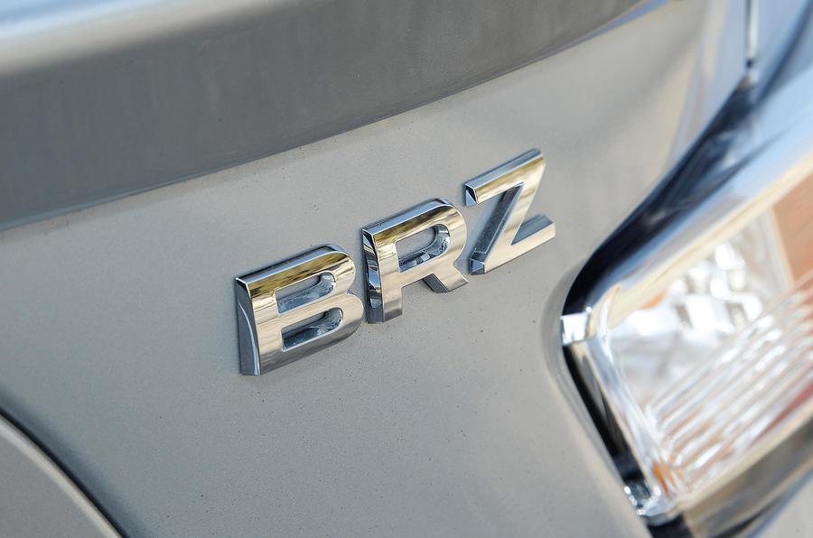 Subaru BRZ badging