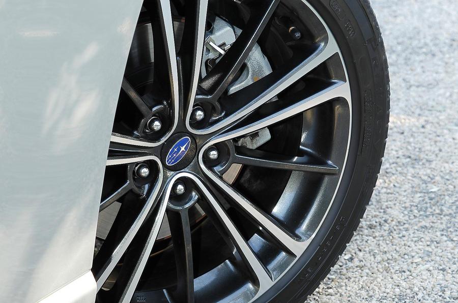 17in Subaru BRZ alloys