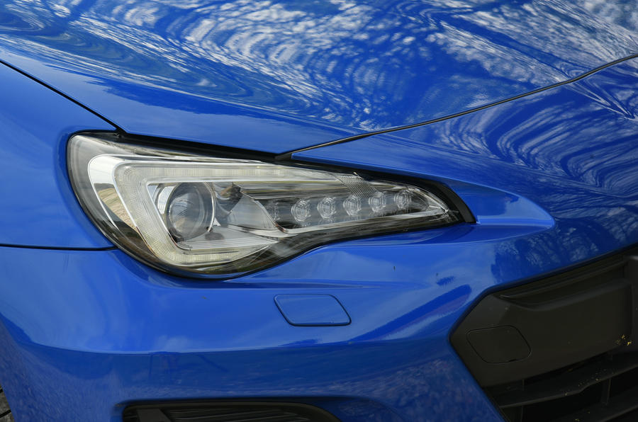 Subaru BRZ LED headlights
