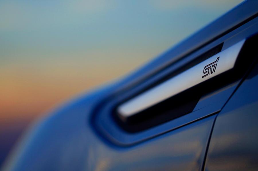 Subaru BRZ STI hinted