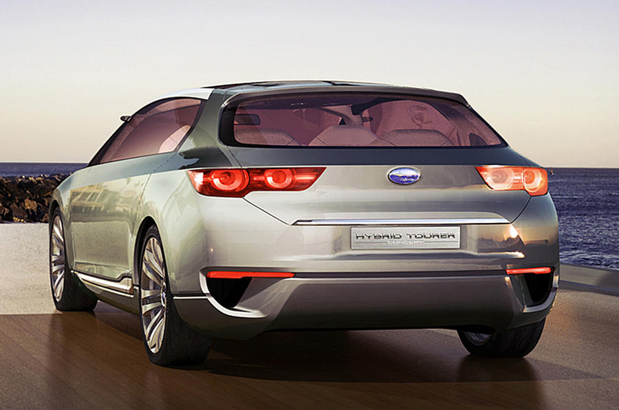 Subaru rethinks design strategy