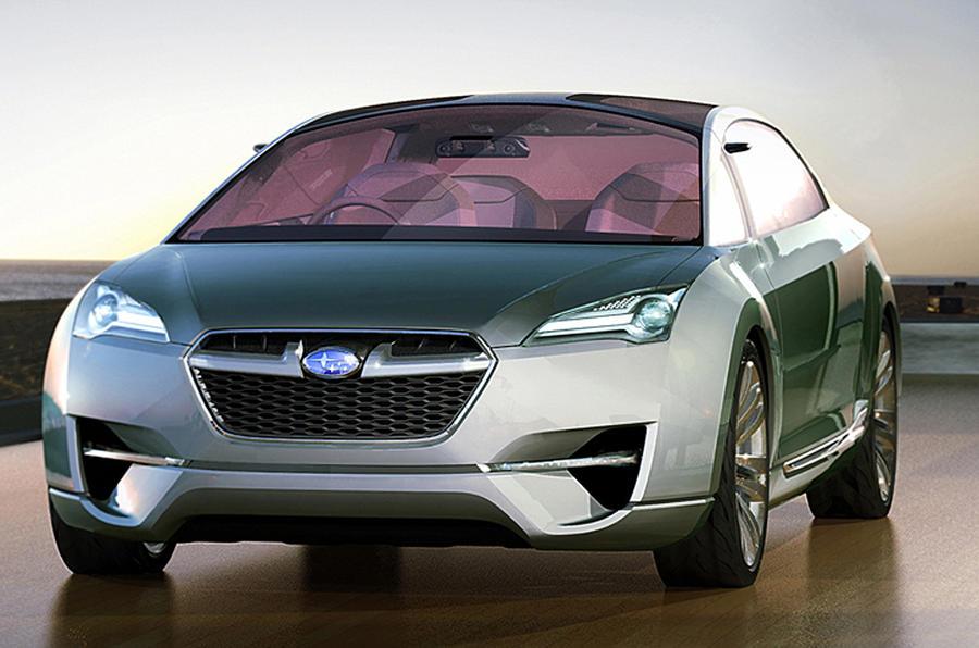 Subaru rethinks design strategy
