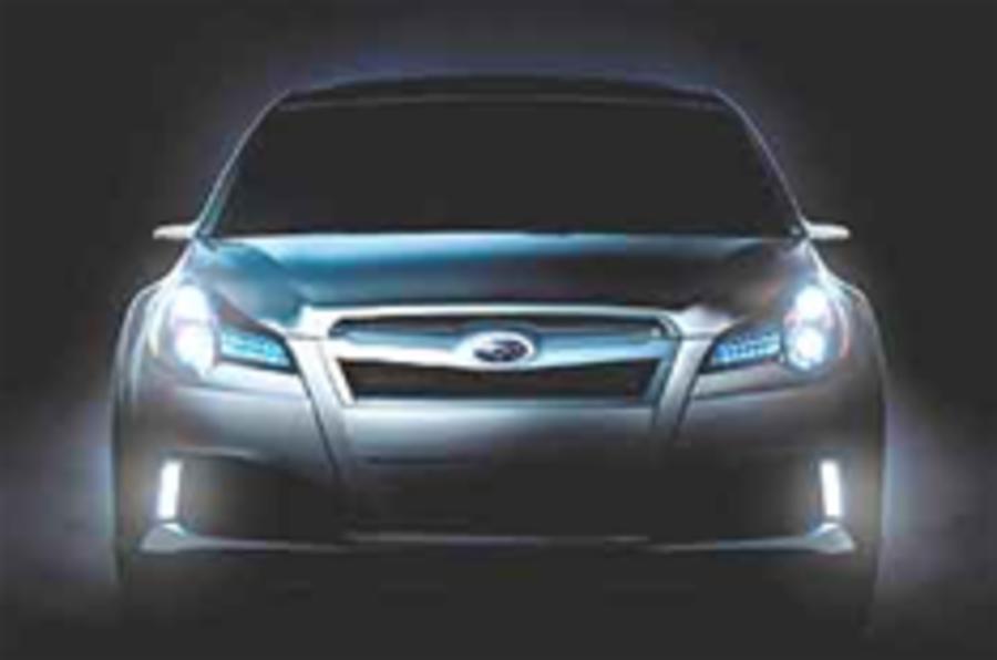 Subaru Legacy unveiled