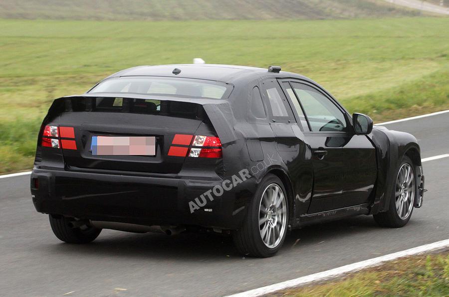 Subaru's STI coupé spied