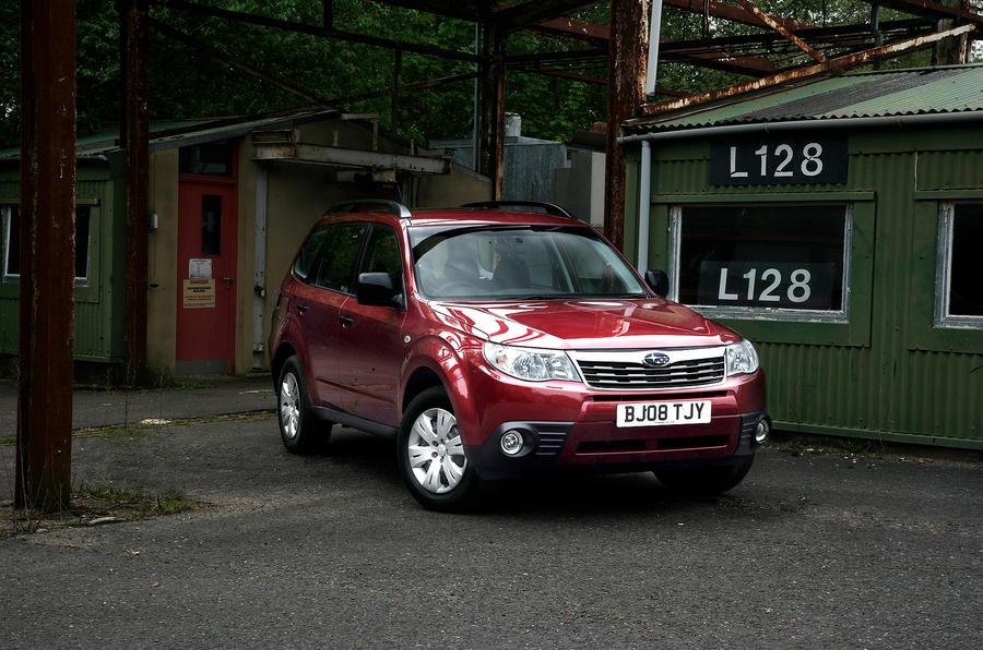 3 star Subaru Forester