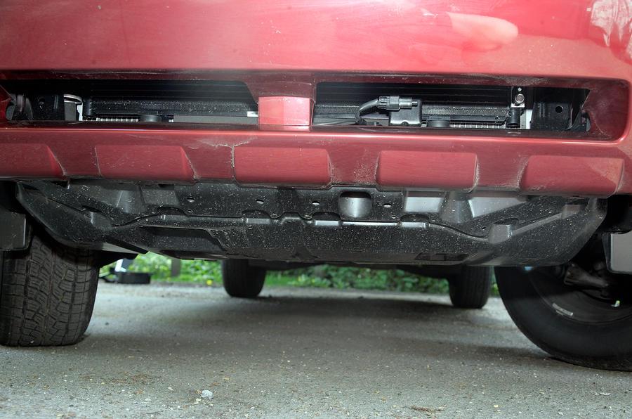 Subaru Forester underguard