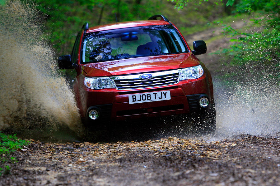 Subaru Forester off-road