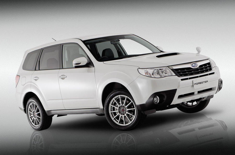Subaru's new Forester concept