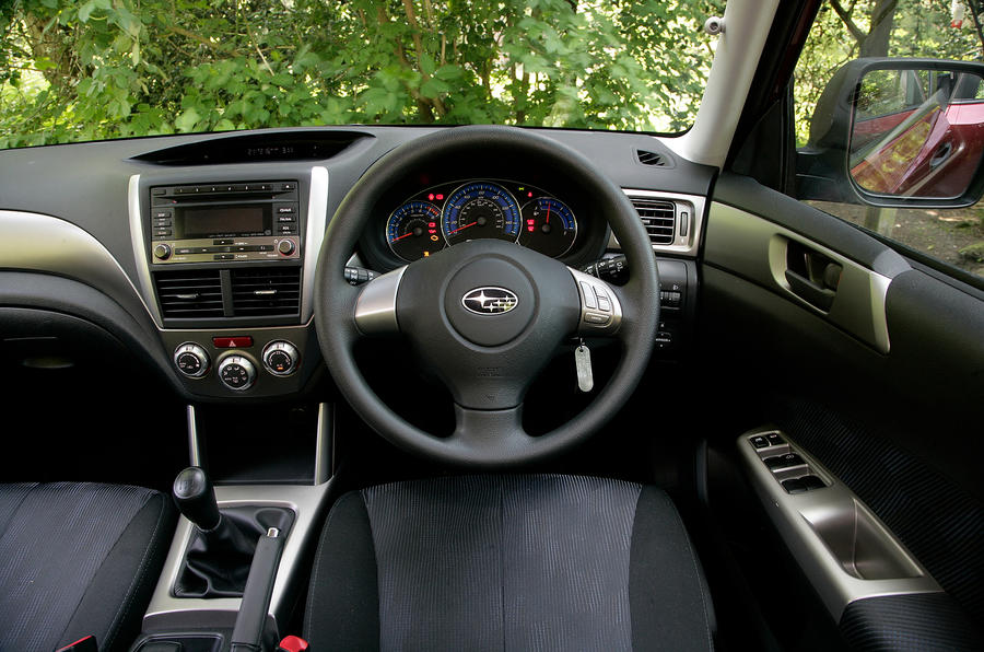Subaru Forester dashboard
