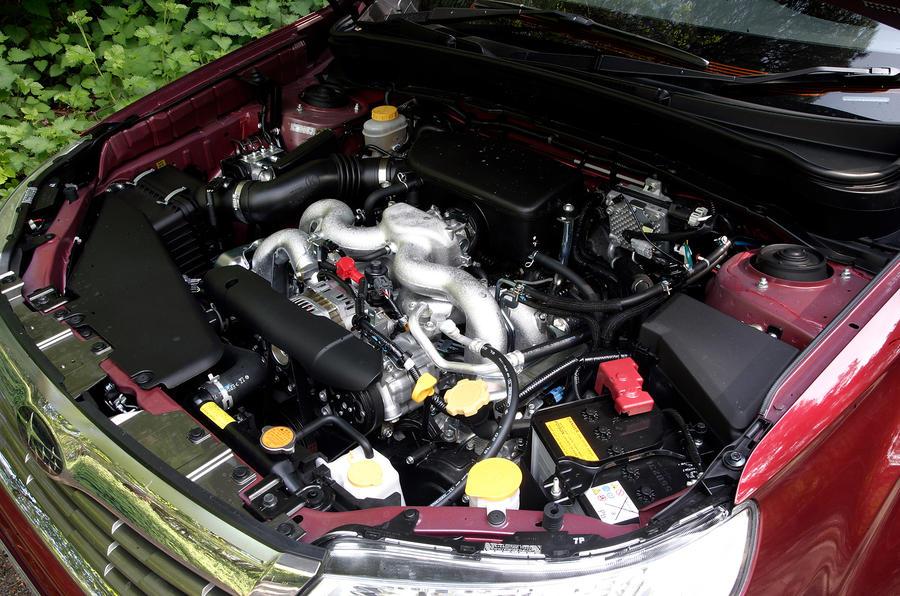 2.0-litre Subaru Forester Boxer engine