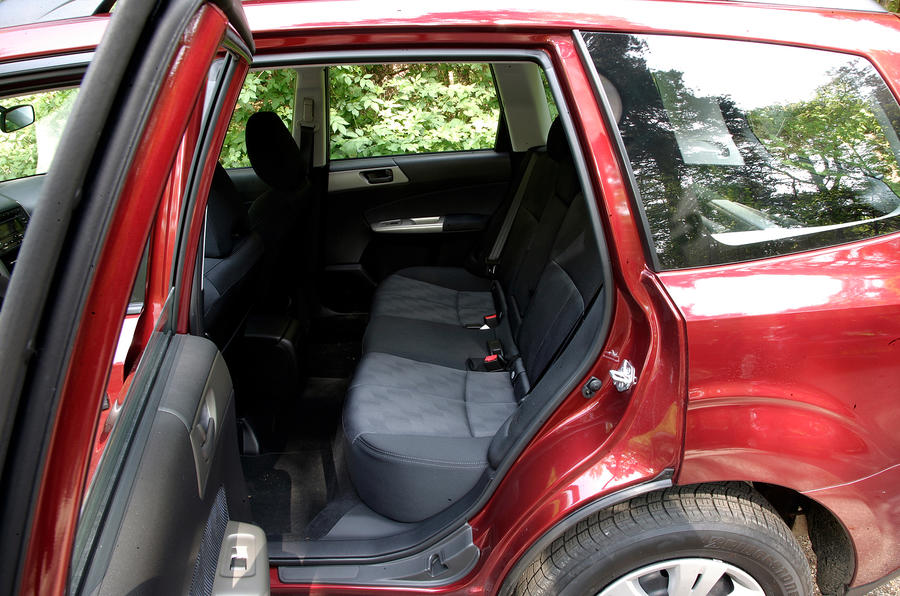 Subaru Forester rear seats