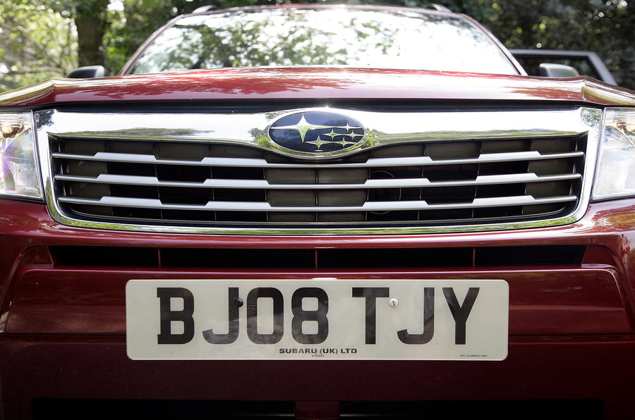 Subaru Forester front grille
