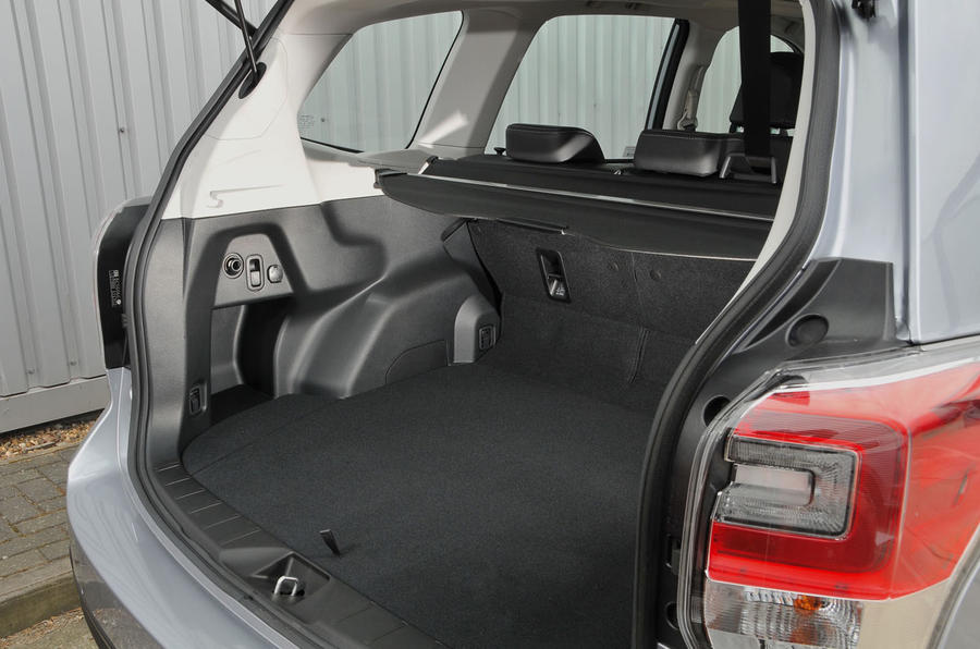 Subaru Forester boot