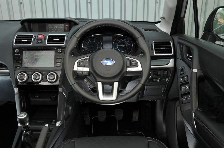 Subaru Forester dashboard